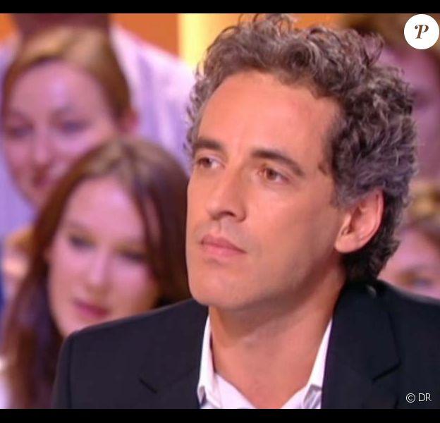 Olivier Pourriol sur le plateau du Grand journal de Canal+, le 29 septembre 2011.