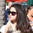 La jolie Selena Gomez se rend chez le médecin à Beverly Hills, le 22 janvier 2013.