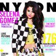 Selena Gomez fait la couvrture du magazine Nylon, février 2013.