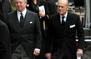 Le prince Philip en deuil aux obsèques de sa nièce la princesse Margarita