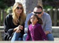 Heidi Klum : Balançoire, football, toboggan, après-midi au parc avec les enfants