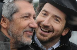 Alain Chabat et Edouard Baer : Turfistes et complices lors du Prix d'Amérique