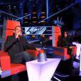 Garou et Jenifer dans The Voice 2 le samedi 2 février 2013 sur TF1