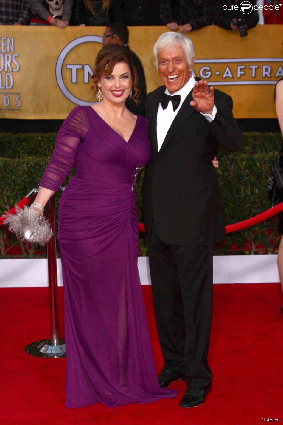 Dick Van Dyke et son épouse Arlene lors des Screen Actors Guild Awards à Los Angeles le 27 janvier 2013