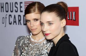 Rooney Mara et sa soeur Kate, un duo gothique et lumineux face à Robin Wright