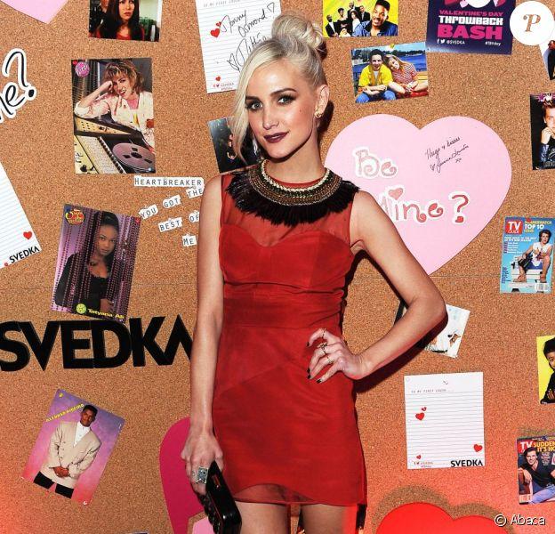 Ashlee Simpson lors de la soirée SVEDKA Vodka à Los Angeles, le jeudi 31 janvier 2013.