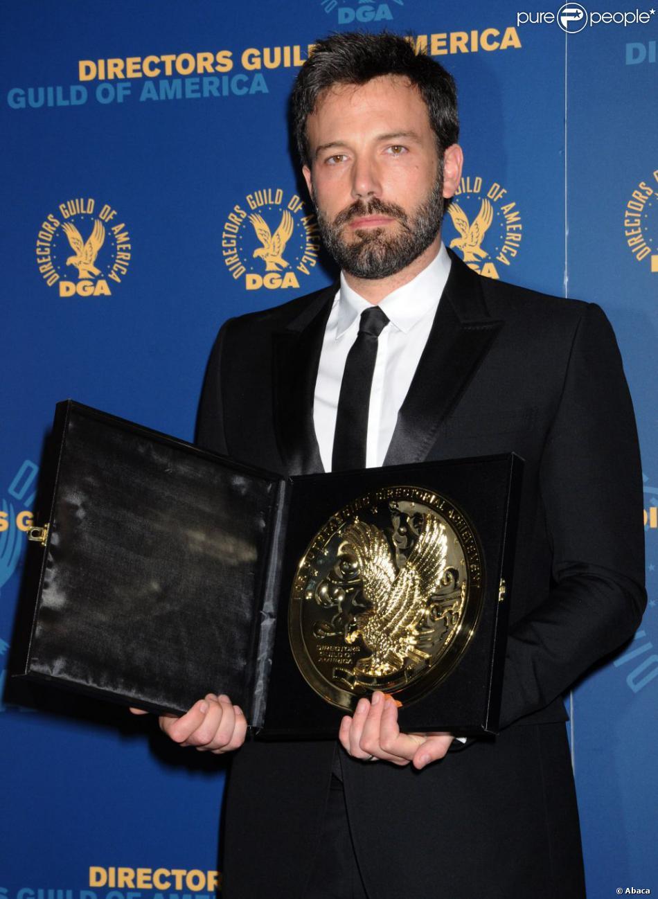 Ben Affleck lors de la remise des Directors Guild of America Awards à Los Angeles le 2 février 2013