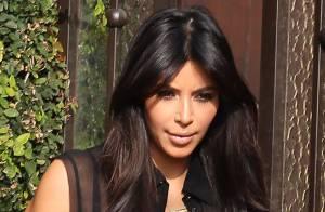 Kim Kardashian : Femme enceinte et sexy face à l'hostilité de Kris Humphries