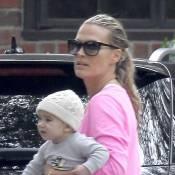 Molly Sims : Détendue avec son fils Brooks, elle est épanouie par la maternité