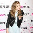 Chloë Grace Moretz délicieuse et pétillante pour le dixième anniversaire de Teen Vogue à l'Aeropostale de New York, le 7 février 2013.