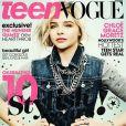 Chloë Grace Moretz en couverture du Teen Vogue.