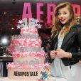 Chloë Grace Moretz a également fêté avec un peu d'avance ses 16 ans au dixième anniversaire de Teen Vogue à l'Aeropostale de New York, le 7 février 2013.