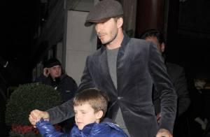 David Beckham : Papa chic et tendre avec ses enfants, avant son arrivée à Paris