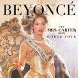 Affiche de la tournée mondiale The Mrs. Carter Show World Tour de Beyoncé.