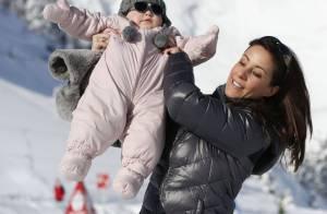Princesse Marie : Athena, 1 an, lookée pour sa première séance photo à la neige