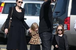 Brad Pitt et Angelina Jolie : A 4 ans, les jumeaux sont leurs copies conformes !