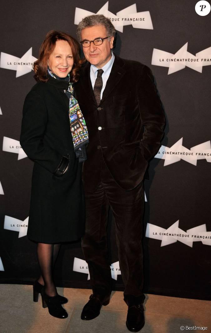 Nathalie baye et serge toubiana au vernissage de l for Expo paris fevrier