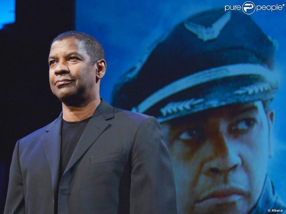 Denzel Washington en promotion pour Flight à Tokyo le 20 février 2013