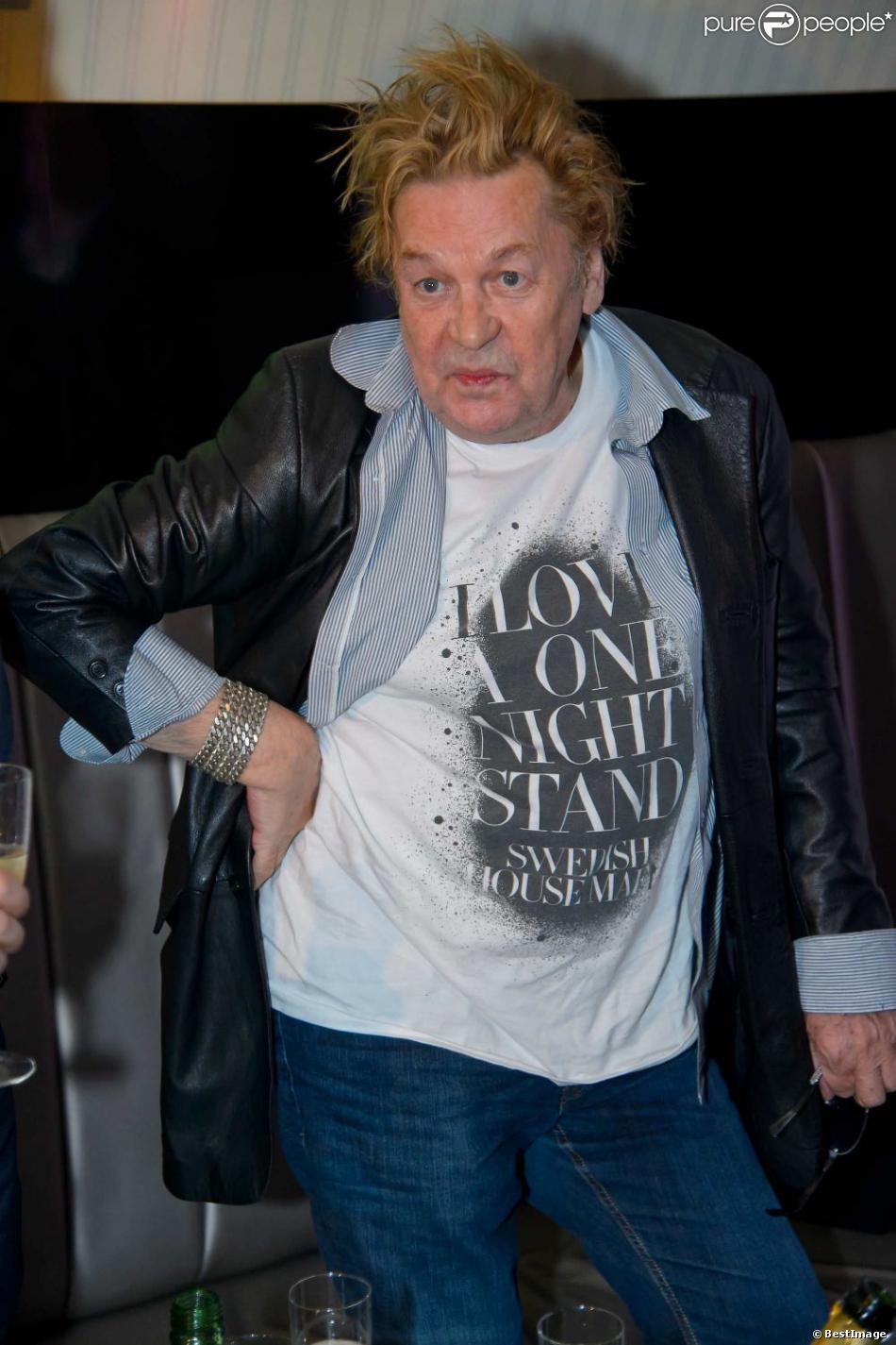 Helmut Berger lors d'une soirée au club Palffy à Vienne, le 16 février 2013.
