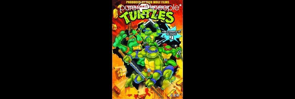 Dvd du dessin anim des tortues ninja - Dessin anime tortues ninja ...
