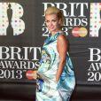 Katherine Jenkins lors des Brit Awards 2013, le 20 février à Londres.