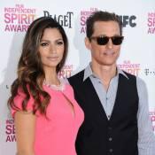 Camila Alves rayonnante pour le sacre de son mari Matthew McConaughey