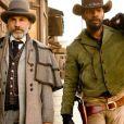 Christoph Waltz et Jamie Foxx dans Django Unchained