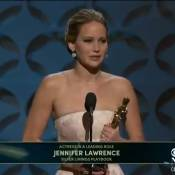 Oscars 2013 : Jennifer Lawrence triomphe et charme... même dans la chute