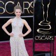 Amanda Seyfried portait elle aussi une robe Alexander McQueen lors des Oscars. Los Angeles, le 24 février 2013.