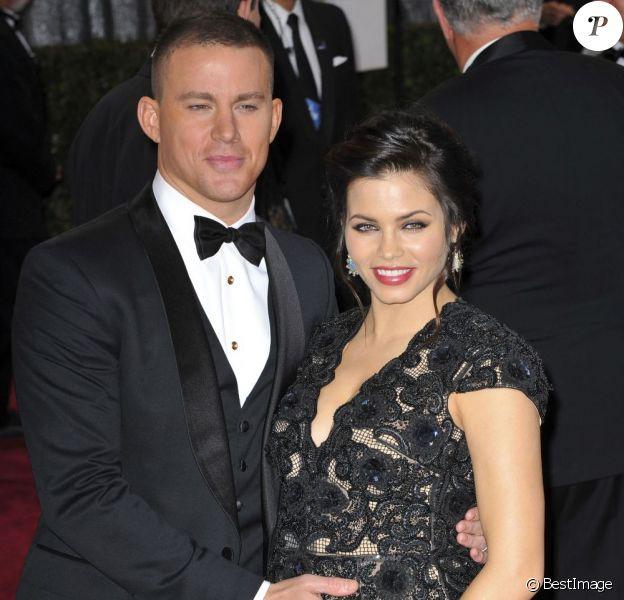 Channing Tatum et Jenna Dewan à la 85e cérémonie des Oscars à Hollywood le 24 février 2013.