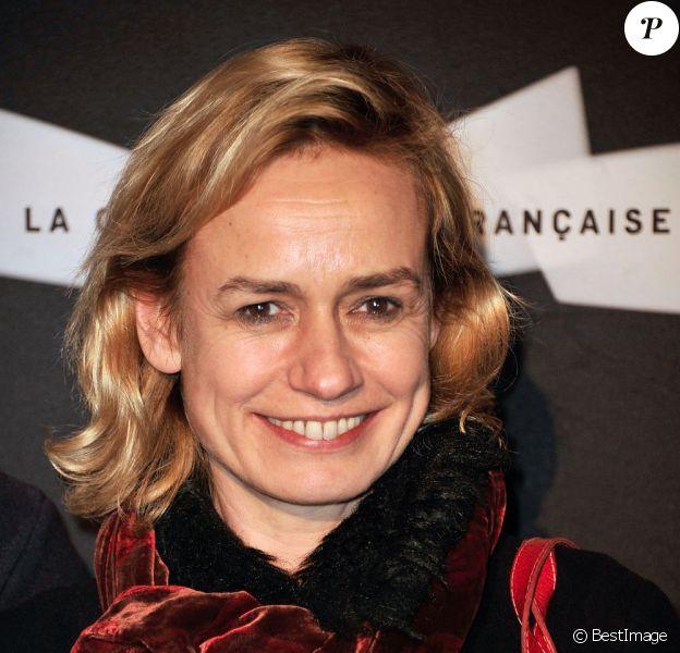 Sandrine Bonnaire le 18 février 2013 à Paris.