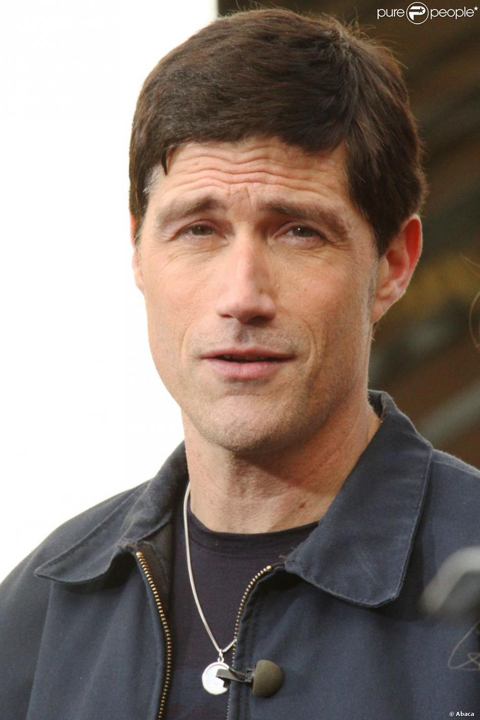 Matthew Fox à Los Angeles, le 25 février 2013.