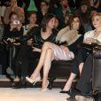 Premier rang au défilé H&M qui avait lieu au musée Rodin à Paris le 27 février 2013