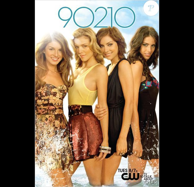 90210 Beverly Hills Nouvelle Génération : Annalynne McCord, Jessica Lowndes, Jessica Stroup, Shenae Grimes.