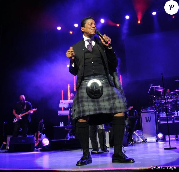 Concert de The Jacksons à Glasgow en Ecosse, le 28 fevrier 2013.
