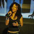 Louisy Joseph en concert au VIP Room à Paris, le 11 juin 2012.