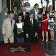 L'inauguration de l'étoile en l'honneur de Richard Burton sur le Walk of Fame à Hollywood le 1er mars 2013 : ses proches sont réunis pour l'événement