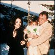 Elizabeth Taylor et Richard Burton en 1972 à Gstaad