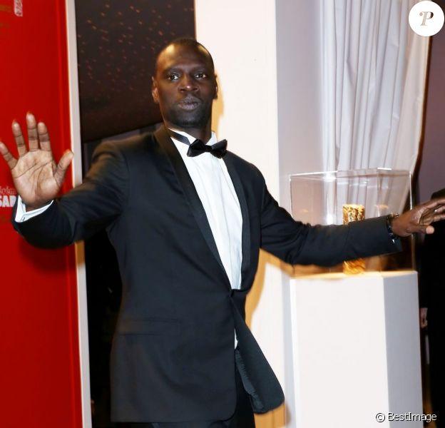 Omar Sy au Fouquet's pour la soirée post-César 2013