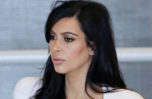 Kim Kardashian, enceinte : Elle rejoint Kanye West à Paris pour la Fashion Week