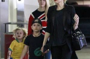 Gwen Stefani, stylée : Pause shopping avec ses adorables fistons