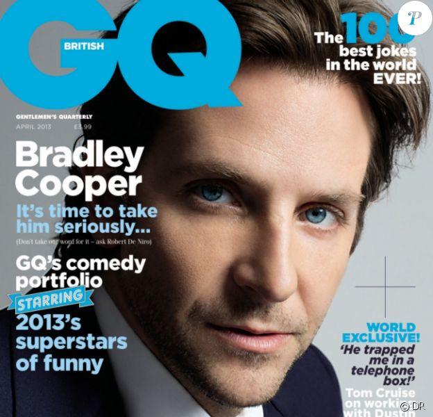 Couverture du magazine GQ - avril 2013 (édition britannique)