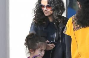 Salma Hayek : Pas de Fashion Week, mais un doux moment avec sa fille Valentina