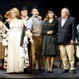 Le filage de la pièce Demain la belle à l'Opéra Comique le 24 janvier 2006