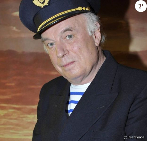 Jérôme Savary lors du filage du spectacle La Fille à marins, au théâtre Rive-Gauche à Paris le 28 février 2012