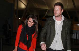 Lea Michele : Détendue au bras de son chéri Cory Monteith et cool avec ses fans