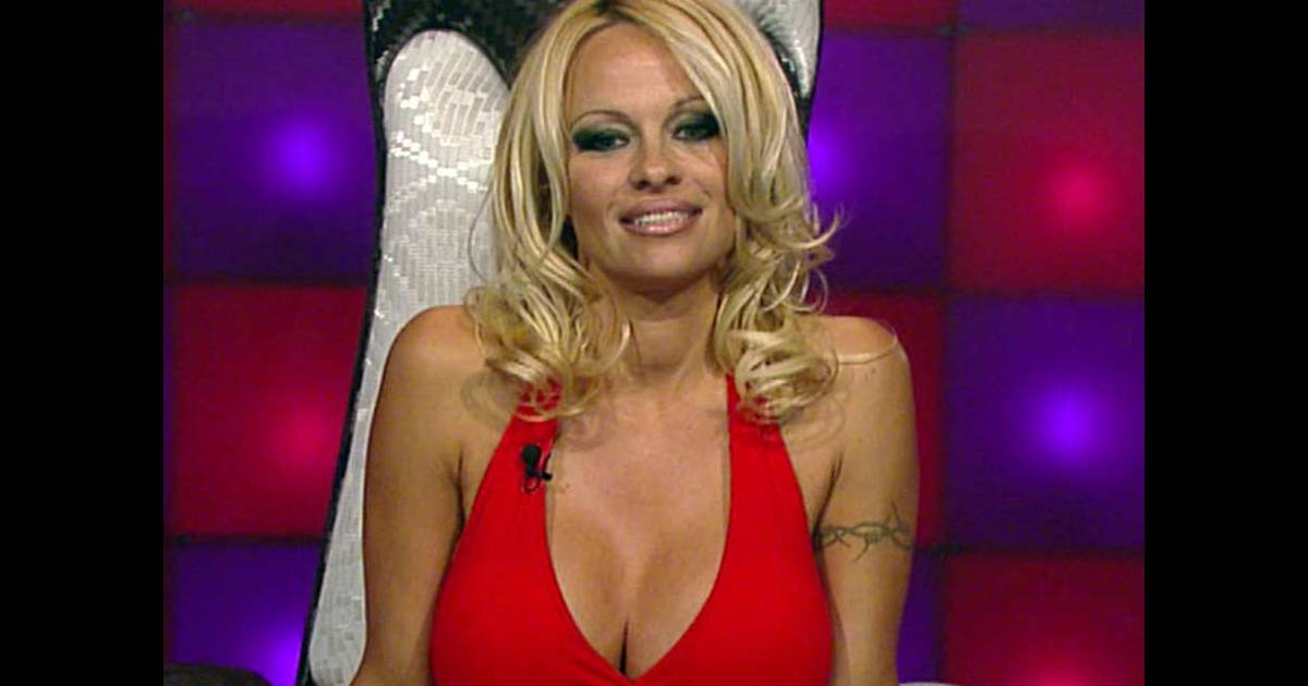 photos pamela anderson dans le loft australien sit t entr e elle teste le lit. Black Bedroom Furniture Sets. Home Design Ideas
