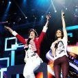 Mika et Shy'm - Spectacle des Enfoirés 2013, La boîte à musique