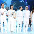 Christophe Maé, Maurane, Renan Luce, Maxime Le Forestier et Zazie - Spectacle des Enfoirés 2013, La boîte à musique