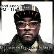 Justin Bieber : Tourmenté, il reçoit le soutien de will.i.am
